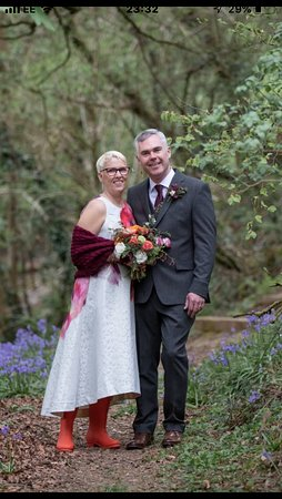 Upton Cross, UK: Wedding day