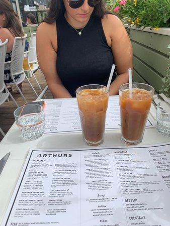 Arthurs Nosh Bar: Iced coffee