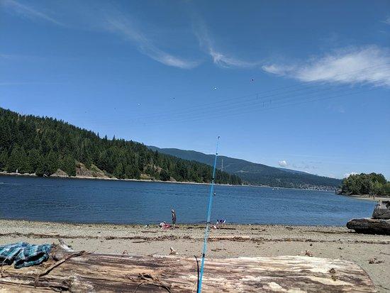 Belcarra, كندا: Belcarra Regional Park including Sasamat n Buntzen Lake