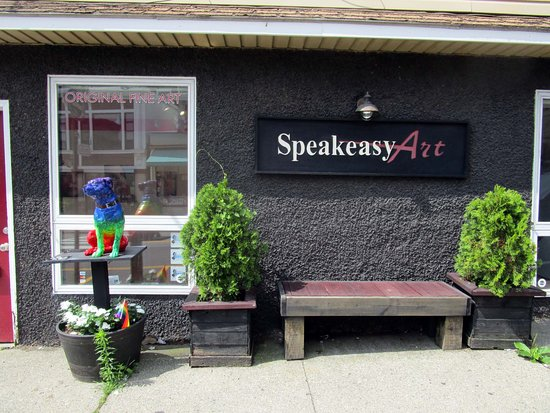 Speakeasy Art Gallery