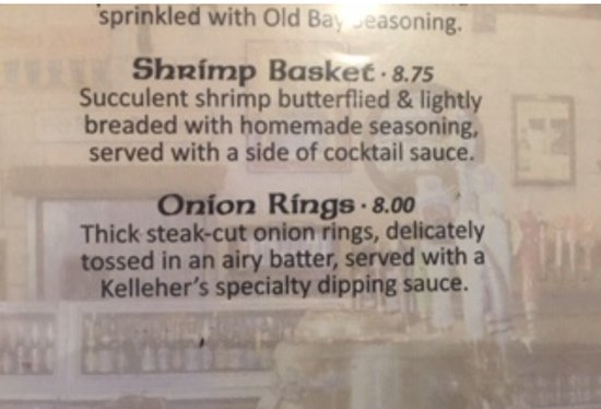 Onion Rings prices
