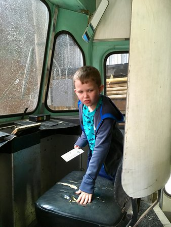Wonderful day at the trolley museum!