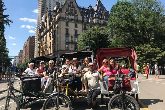 Pedicab the Big Apple
