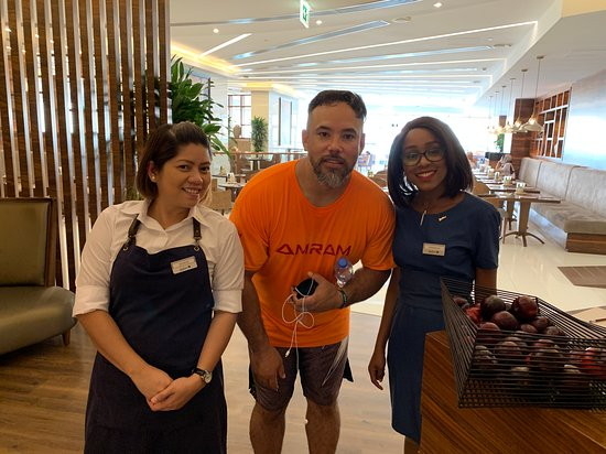 Larder Restaurant: The two best assets at the Larder in Radisson Blu waterfront Dubai. These two go above and beyond every time . Rowena and Veronicah are the best