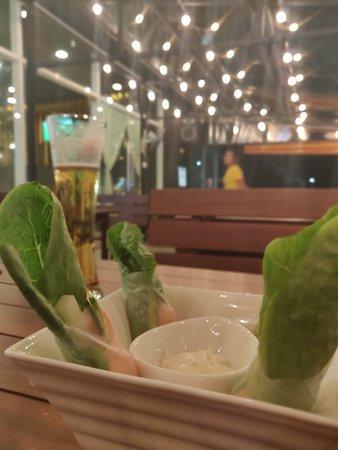 Wasabi rolls