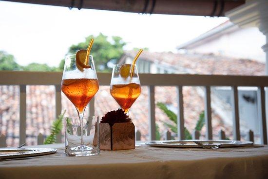 Exquisite Cocktails & outdoor seating
