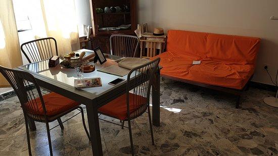 Salon Cuisine Salle A Manger Picture Of Villa Argento Bagheria