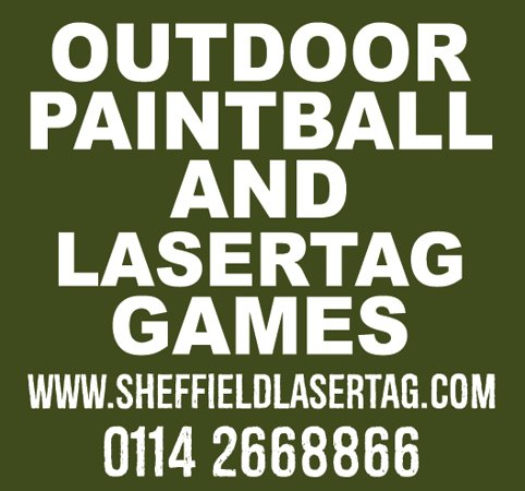 Sheffield Outdoor Lasertag and Paintball games