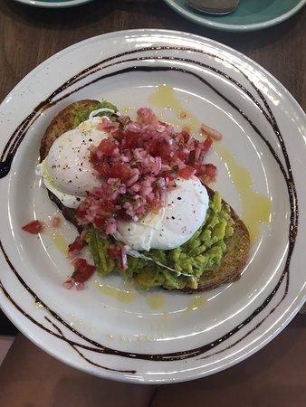 Delicious and healthy breakfast