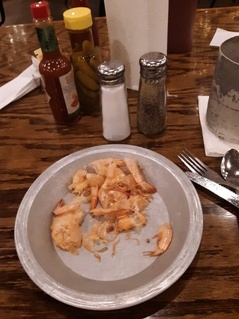 Magee, MS : Some very nice boiled shrimp !