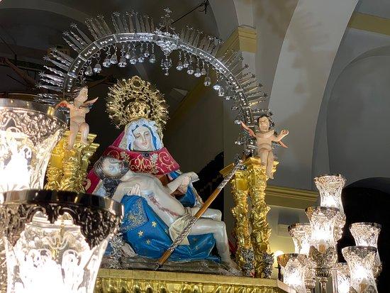 Virgen de la Piedad, patrona de Santa Olalla