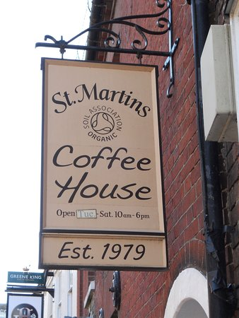 Stmartins Coffee House Sign Picture Of St Martins