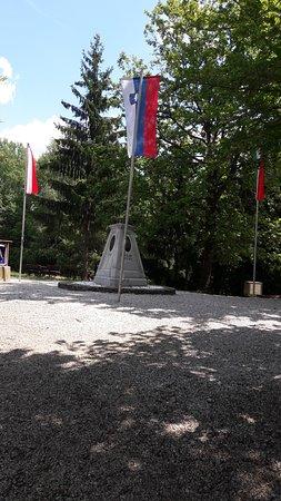 Felsoszolnok, ฮังการี: A magyar-szlovén-osztrák hármashatár