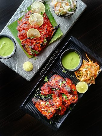 Newly launched Indian menu