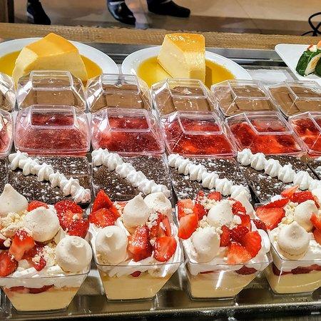Sobremesas deliciosas. No restaurante Praça 31 você come bem desde a refeição até a sobremesa.😋