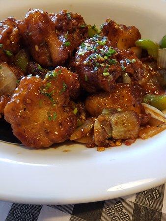 Waukee, Iowa: Gobi Manchurian  sweet and sour cauliflower
