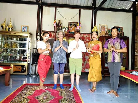 Tra Vinh Province, Vietnam: To take a look the traditional dance of Khmer people in the village