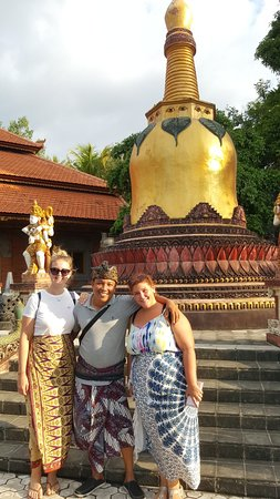 Bli Gojink Bali Professional Bali Driver: Day tour with Salome and Marie.