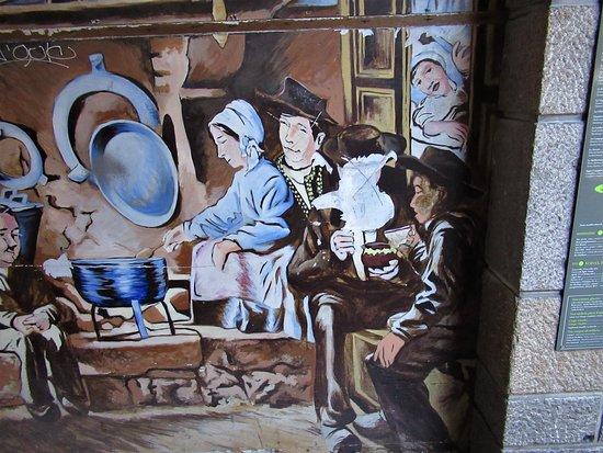 "Fresque ""Saint Malo - Bretagne profonde"""