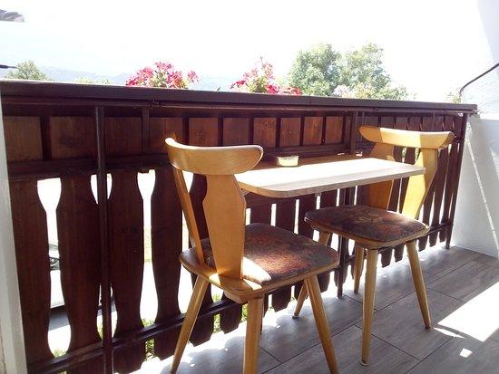 Foerolach, Østerrike: Gailtal Inn Balkon / balcony
