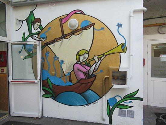Fresque Un long voyage