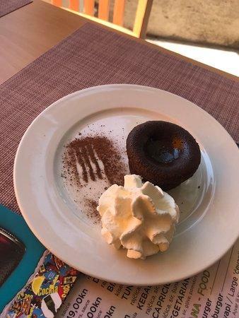 Lava cake :) mmmmmm