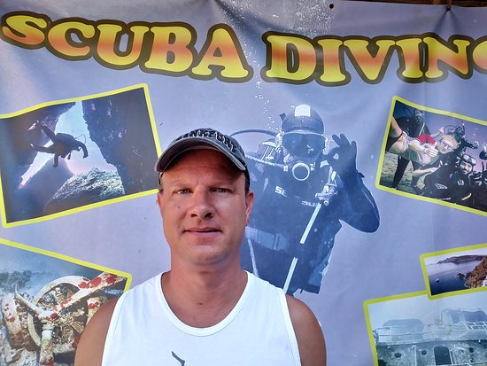 ‪‪Mades‬, اليونان: Congratulations Dirk for successfully completing your Advanced Open Water Diver Course!!!!‬