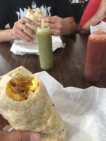 Delicious Breakfast Burritos