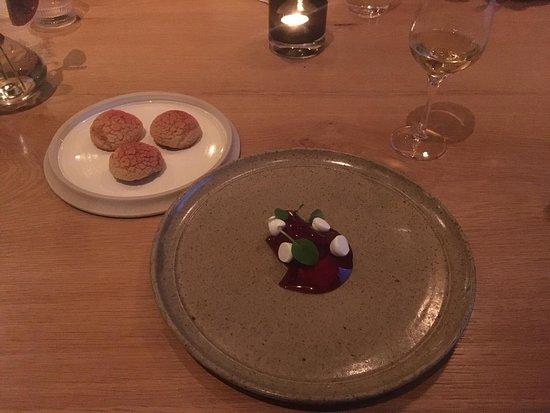 Zingem, Belgia: Yoghurt - blauwe bes - limoen