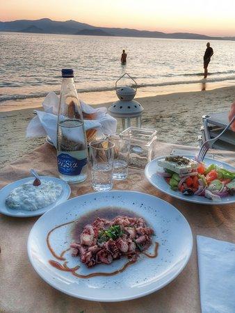 Αγία Άννα, Ελλάδα: Dreaming dinner...