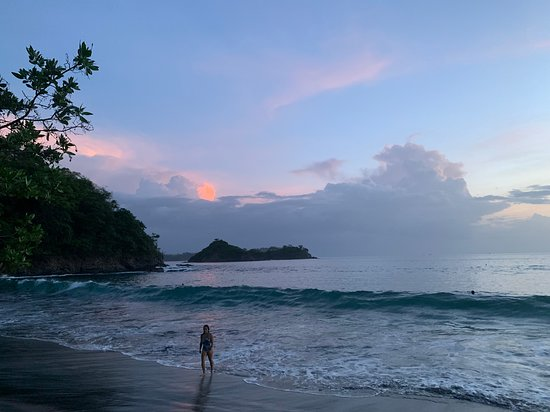 Playa Prieta, Costa Rica: Sunset frame