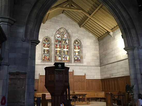 The Old Parish Church Peebles: This cathedral invites contemplation and prayer. It's wonderful that it is open to the public.
