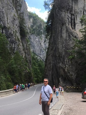 Lacu Rosu, Roemenië: Bicaz Canyon