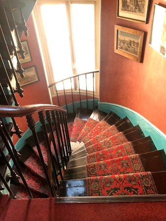 Fun stairway!