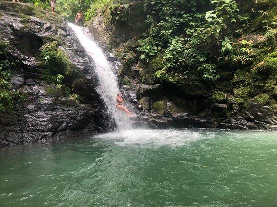 Waterfalls Heaven Costa Rica: Water slide!