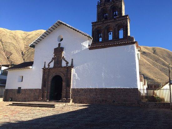 Huaro, Peru: Interesante iglesia !!!