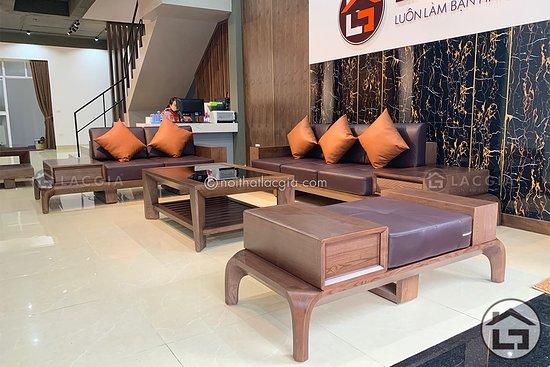 Ha Dong, เวียดนาม: Sofa gỗ cao cấp SF10