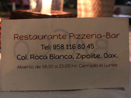 Pochutla, Mexikó: Un buen lugar para pasar una cena romantica