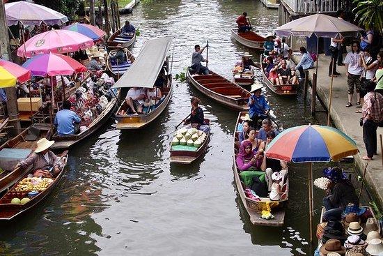 Mercados flotantes de Damnoen Saduak