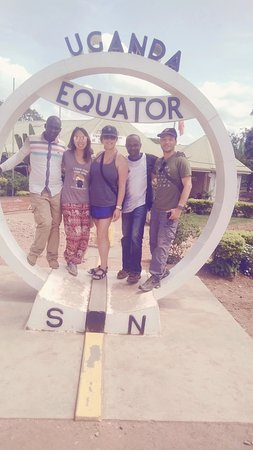Kayabwe, Uganda: The Equator, both the South pole and North pole, must stop over for sightseeing and photography