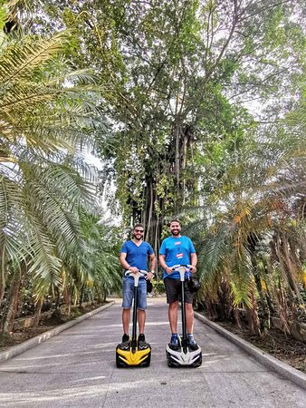 Guided eco ride