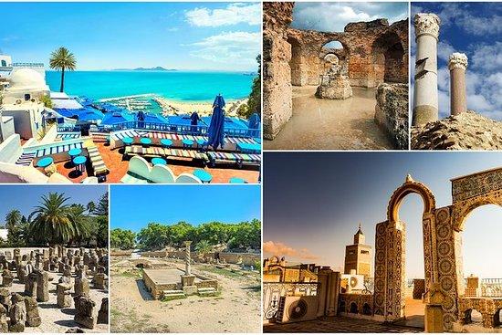 Carthage, Sidi Bou Said, Bardo Museum...