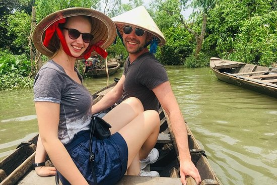 Min Tho Ben Tre Den övre Mekong River ...