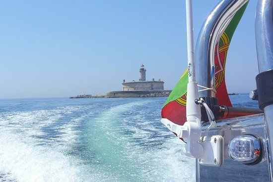 Lisbon Coast Forts Route by boat