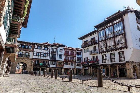 私人游览Fuenterrabia与来自Sansebastian的pintxo...