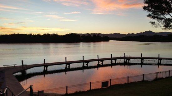 Mylestom, أستراليا: Tidal pool and top fishing spot at Mylestom