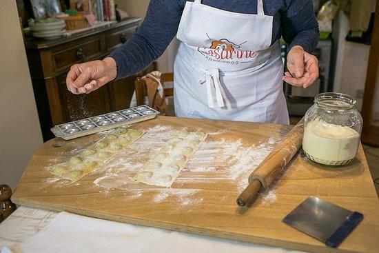 私人意大利面和提拉米蘇課程在Cesarina的家中,在安科納品嚐