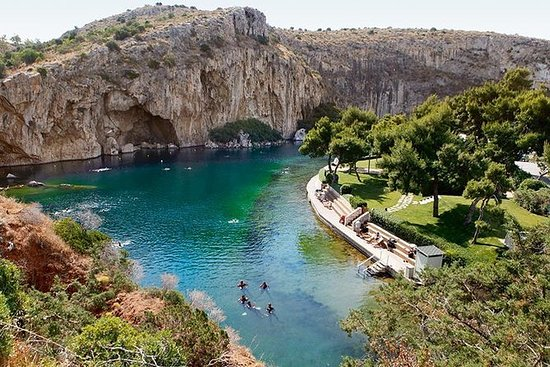 Tour del lago Vouliagmeni e Sounion