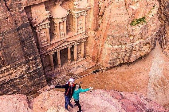Tour di 2 giorni: Petra, Wadi Rum e