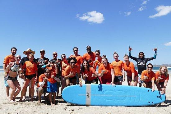 Group Surf Lesson (5+ studenter)